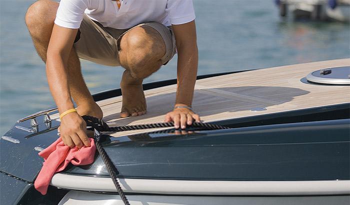 fiberglass boat restoring