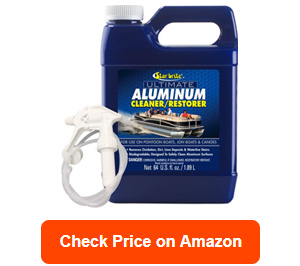 star brite ultimate aluminum cleaner restorer safely clean pontoon boats