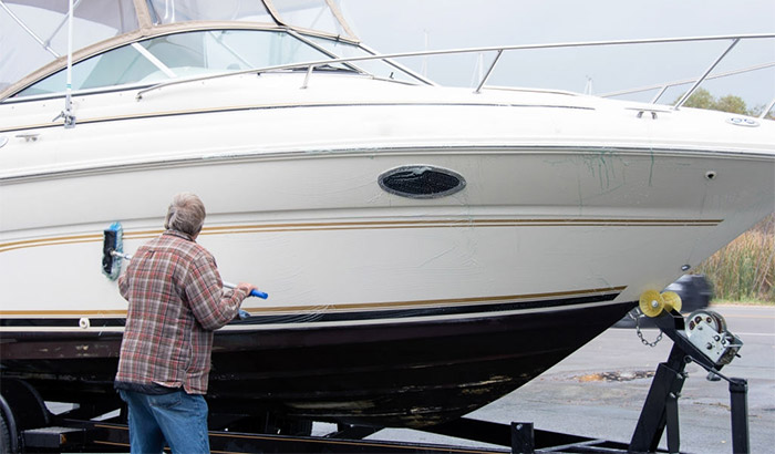 best boat hull cleaner