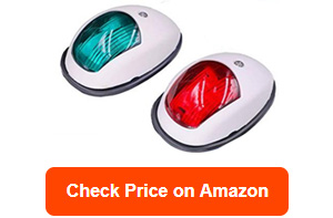 obcursco led boat navigation lights