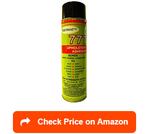 polymat 777 spray adhesive glue