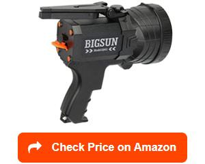 bigsun q953 rechargeable led spotlights