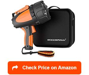 goodsmann rechargeable spotlights