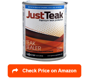 justteak teak oil sealer