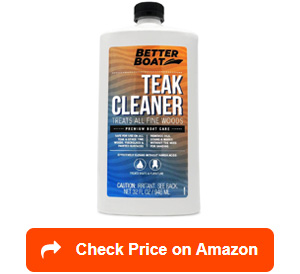 better boat teak cleaners
