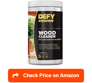 defy wood deck cleaners