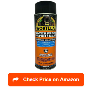gorilla waterproof patch and seal spray