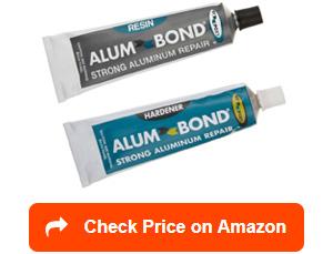 hy-poxy h-450 alumbond aluminum putty repair