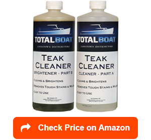 totalboat teak cleaners