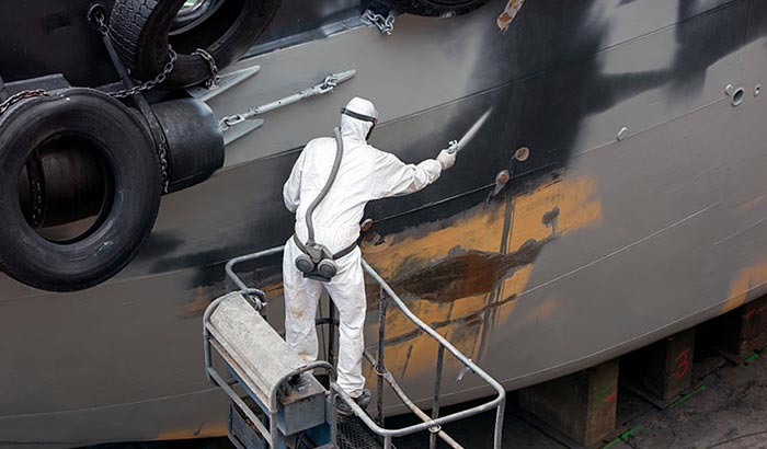 best paint for boat hull