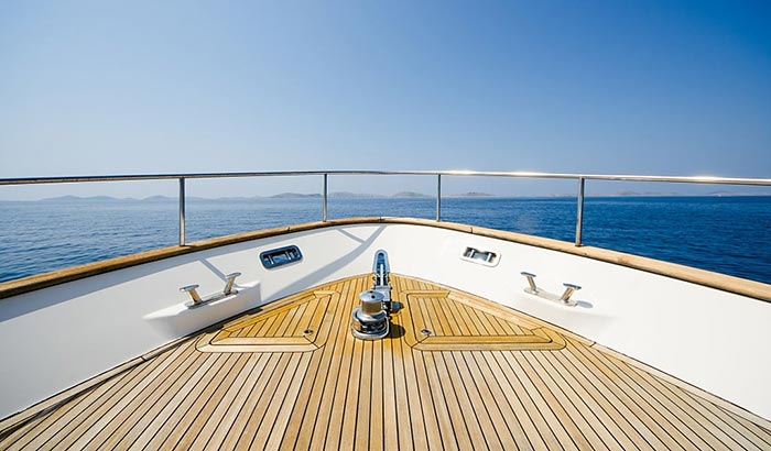 boat deck paint on a budget