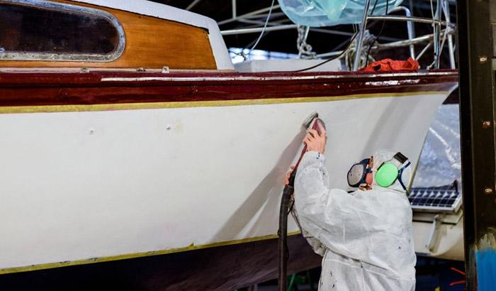 sailboat hull paint
